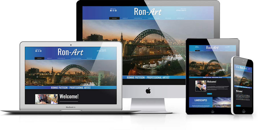 Ron-Art - Ronnie Pattison, Professional Artist